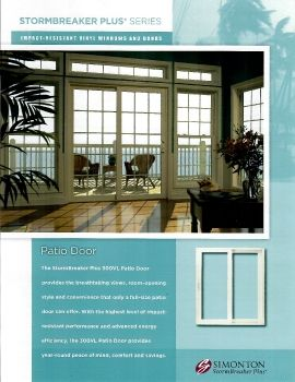 Simonton Patio  Doors